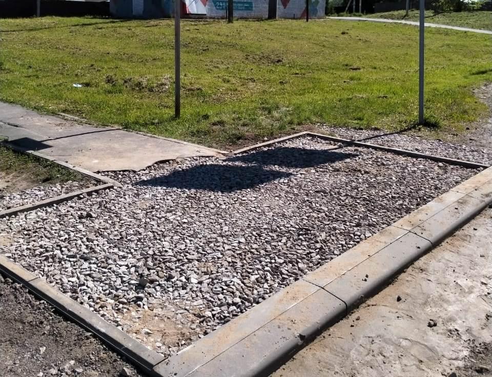 Работы по благоустройству провели в поселении Роговское