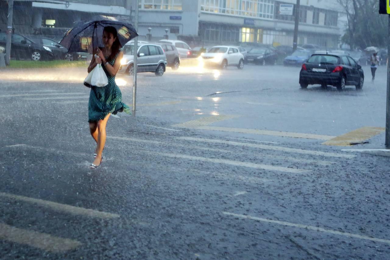В Москве в выходные дни будет дождливо