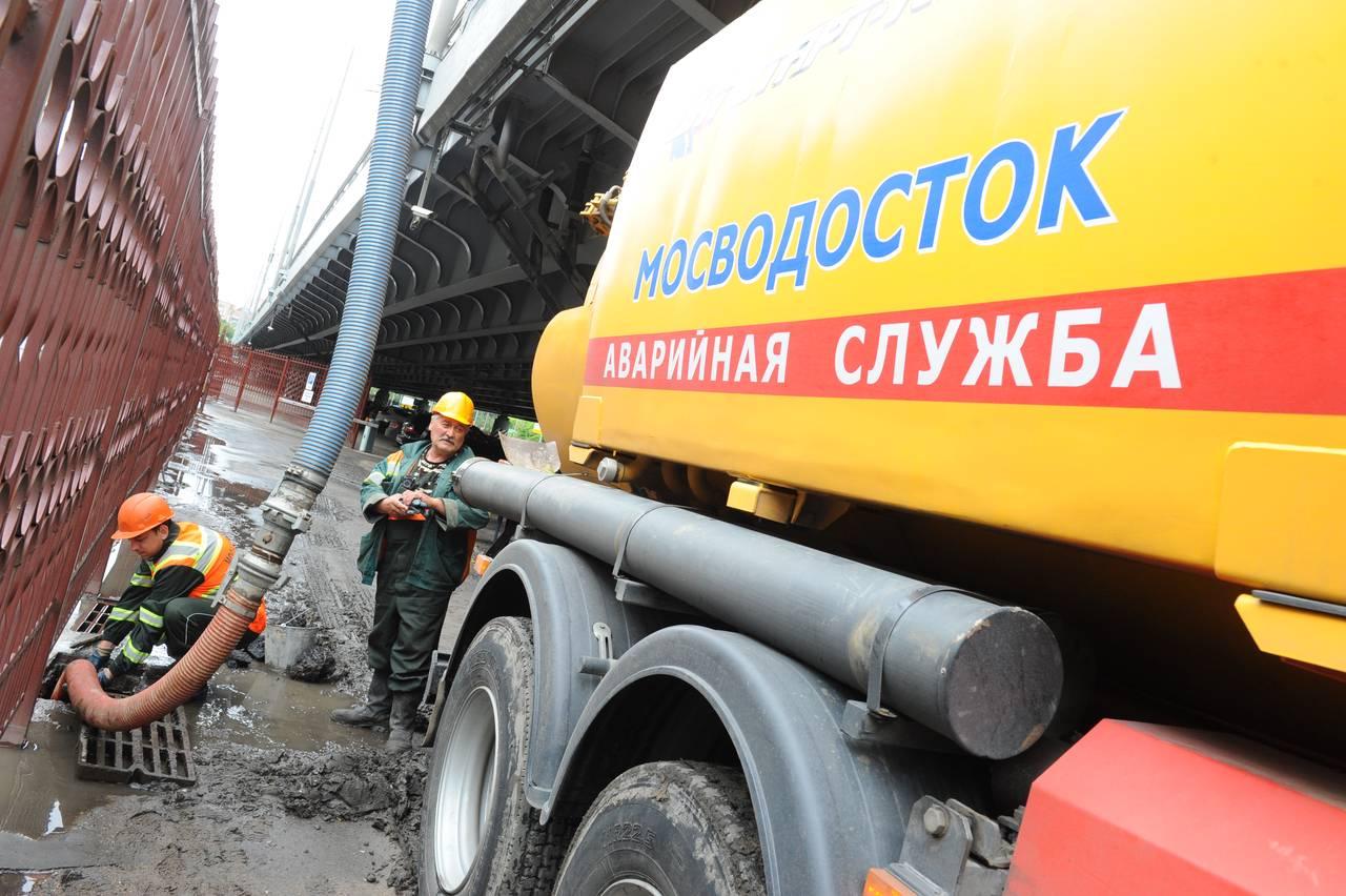 Коммунальщики Москвы перешли в режим повышенной готовности