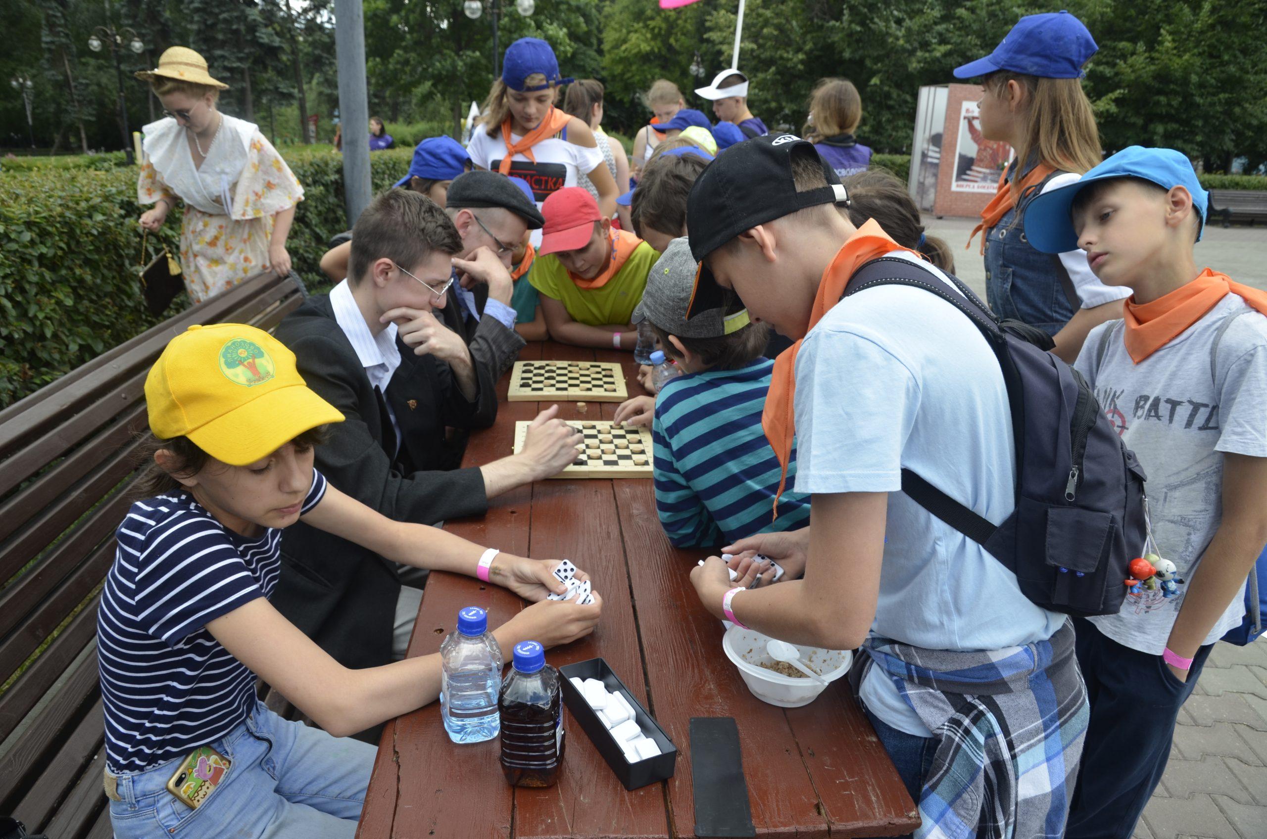 Мероприятие ко Дню защиты детей организовали сотрудники Культурного центра «Киевский»