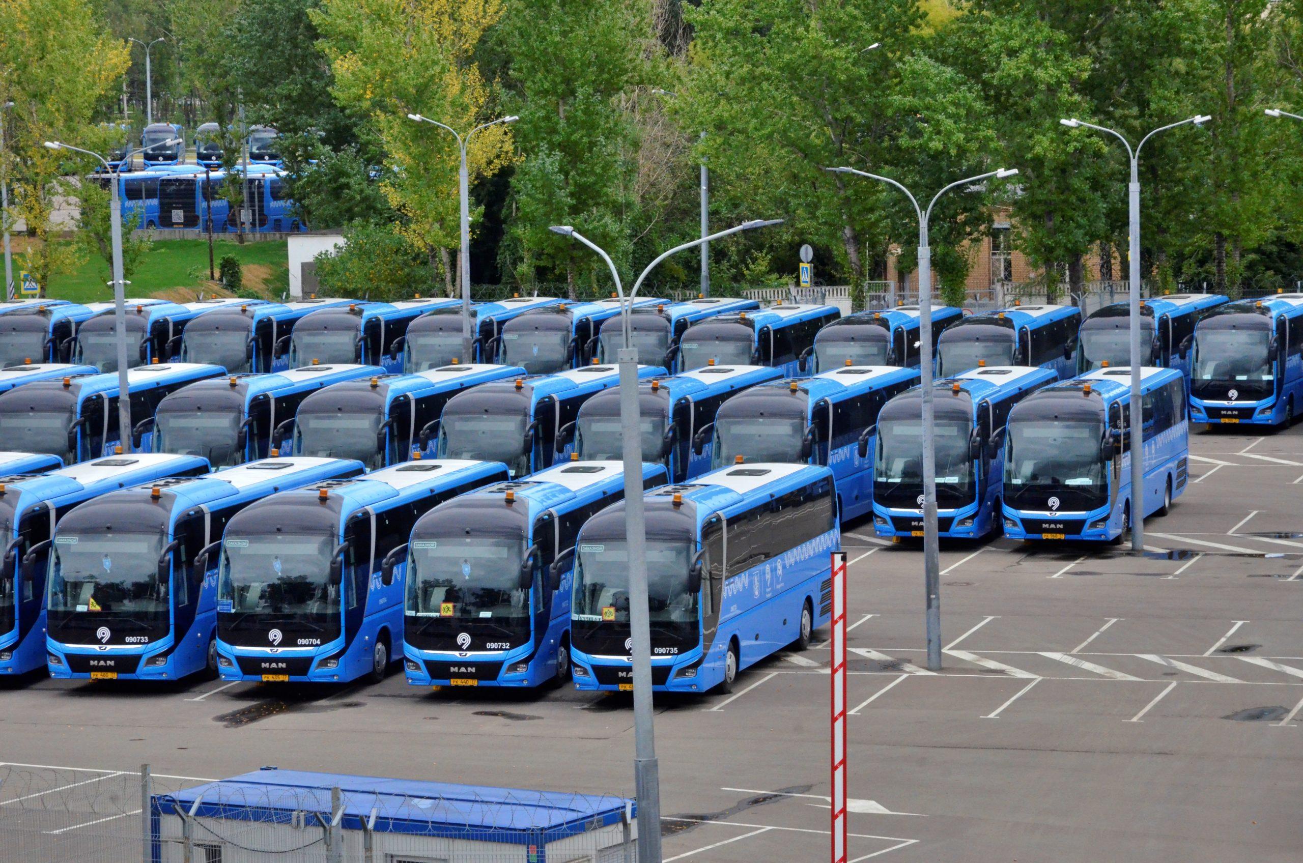Автобусный парк начали строить в Новой Москве