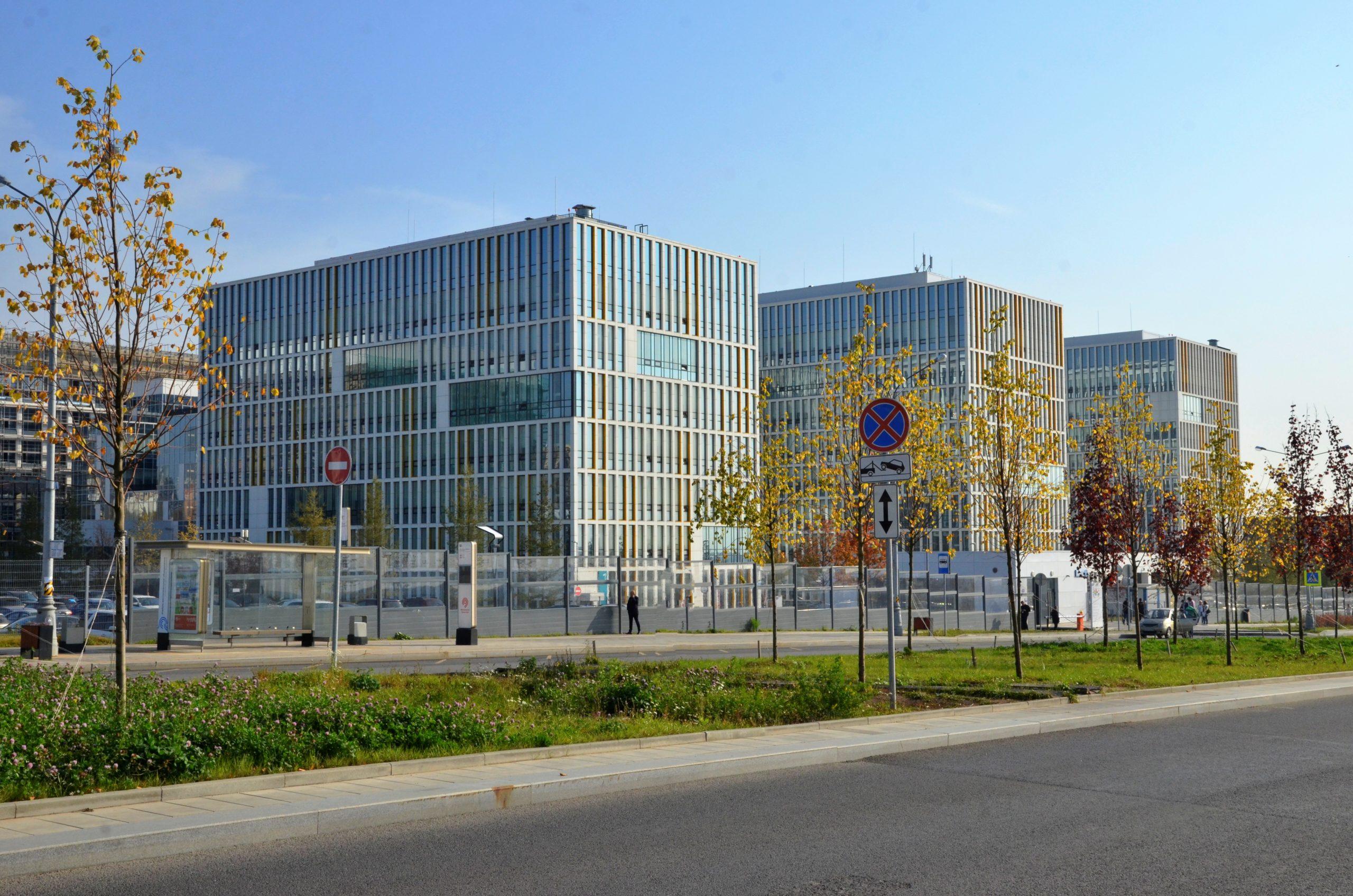 Развитие административно-делового центра Коммунарки идет полным ходом
