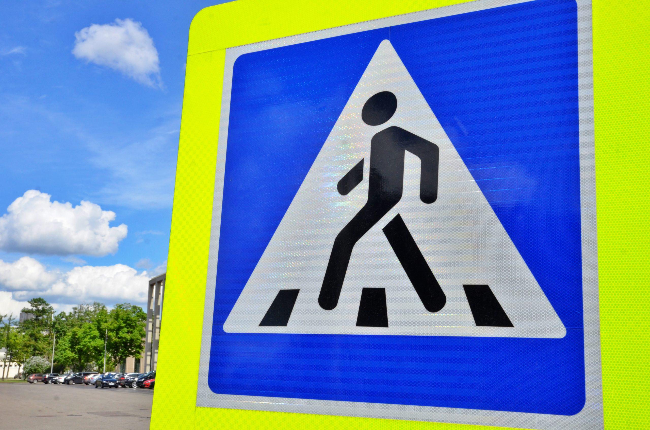 Специалисты провели работы по ремонту и установке знаков дорожного хозяйства в Десеновском