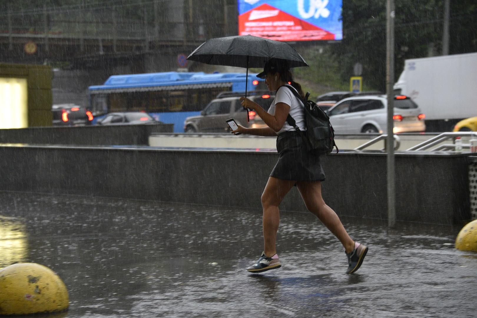 Жителей Москвы предупредили о локальных дождях