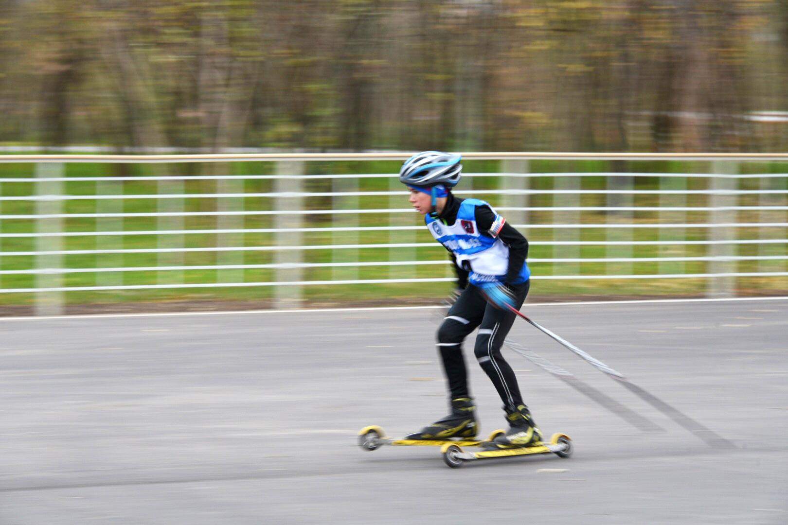 Лыжники провели тренировку в поселении Михайлово-Ярцевское