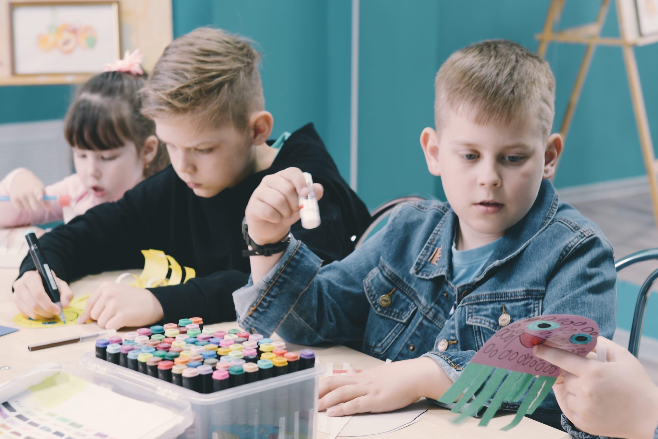 Мастер-класс для детей провели в Культурном центре «Киевский»