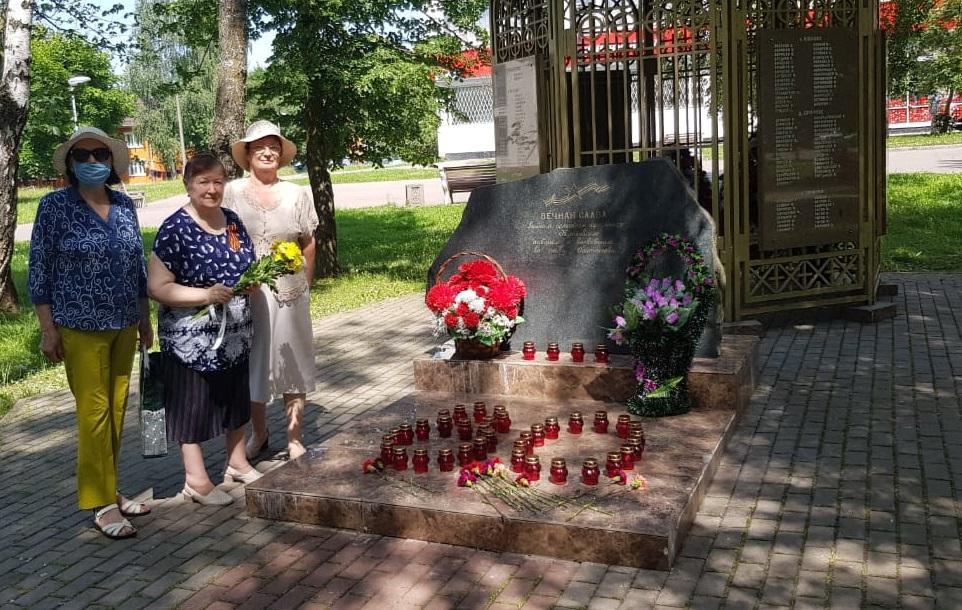 Митинг памяти провели в Кленовском