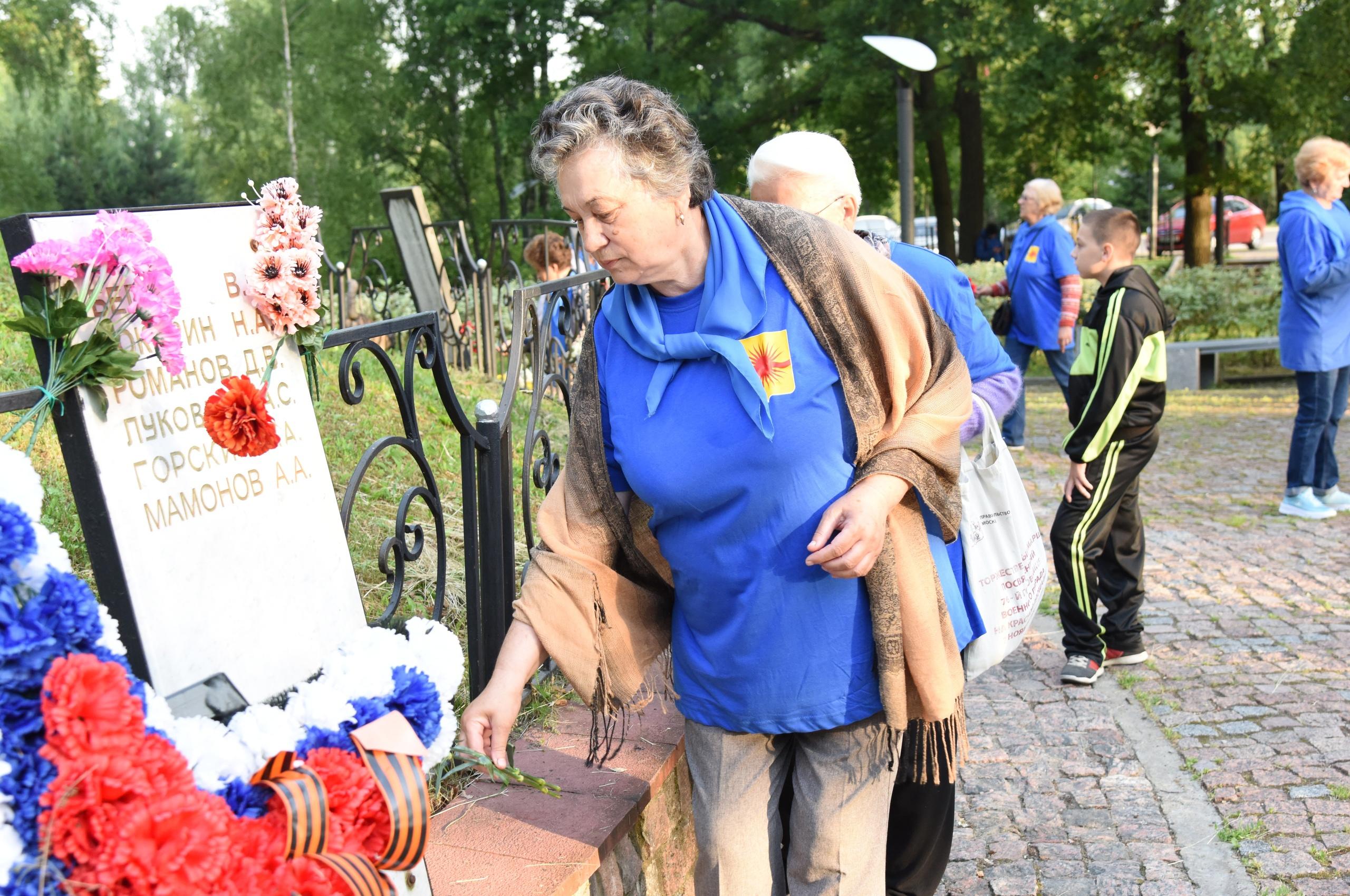 Патриотическая акция «Свеча Памяти» прошла в Краснопахорском
