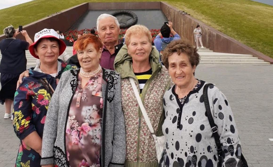 Активисты Совета ветеранов поселения Краснопахорское побывали в Городе воинской славы Ржеве