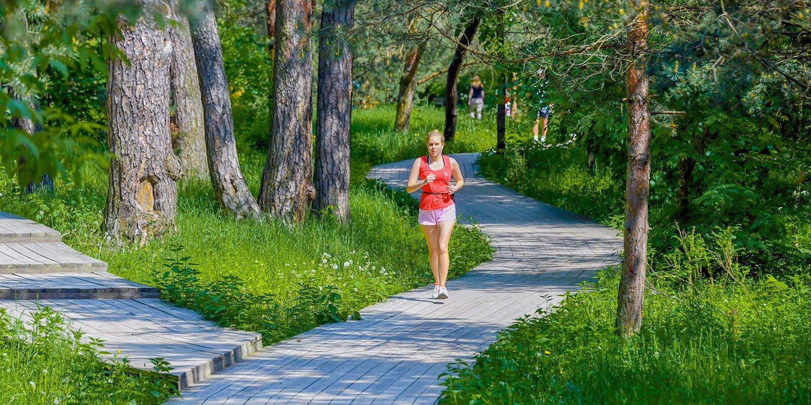 Жители Москвы смогут заняться спортом и одновременно помочь природе