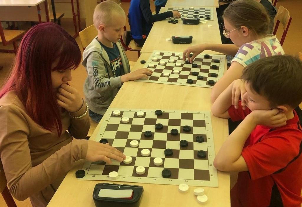 Шахматный турнир среди детей. Фото предоставили сотрудники учреждения.