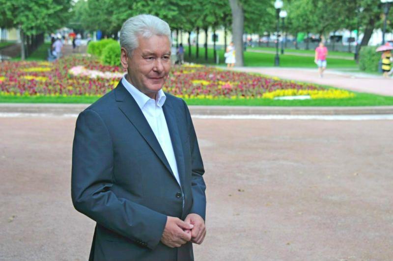 Собянин: Программа благоустройства городских пространств в Москве продолжится
