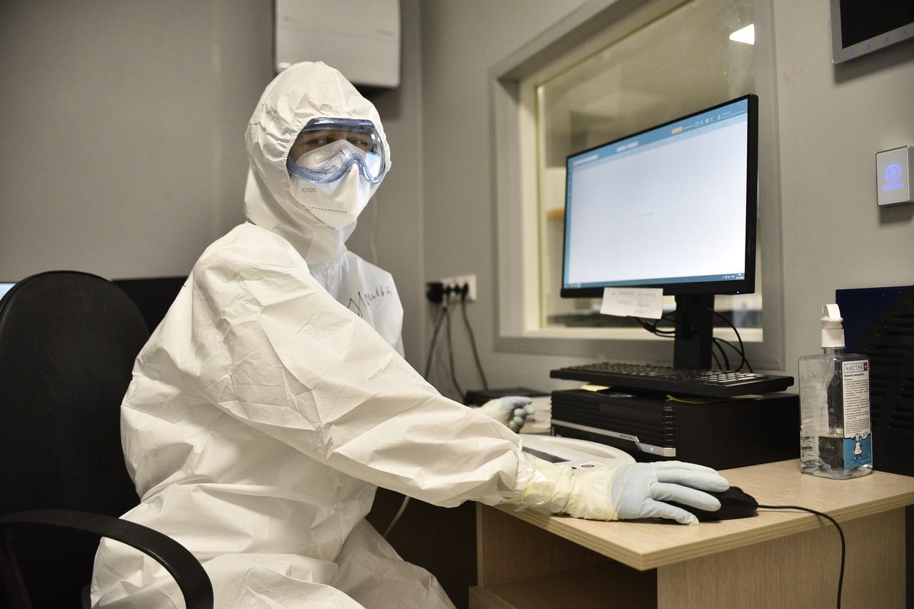 В Москве выявили 5,4 тысячи новых случаев коронавируса