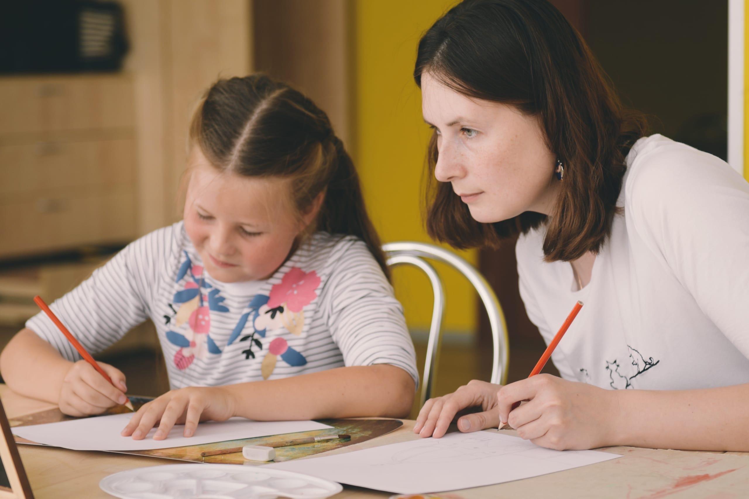 Творческий мастер-класс для детей и родителей провели в Культурном центре «Киевский»