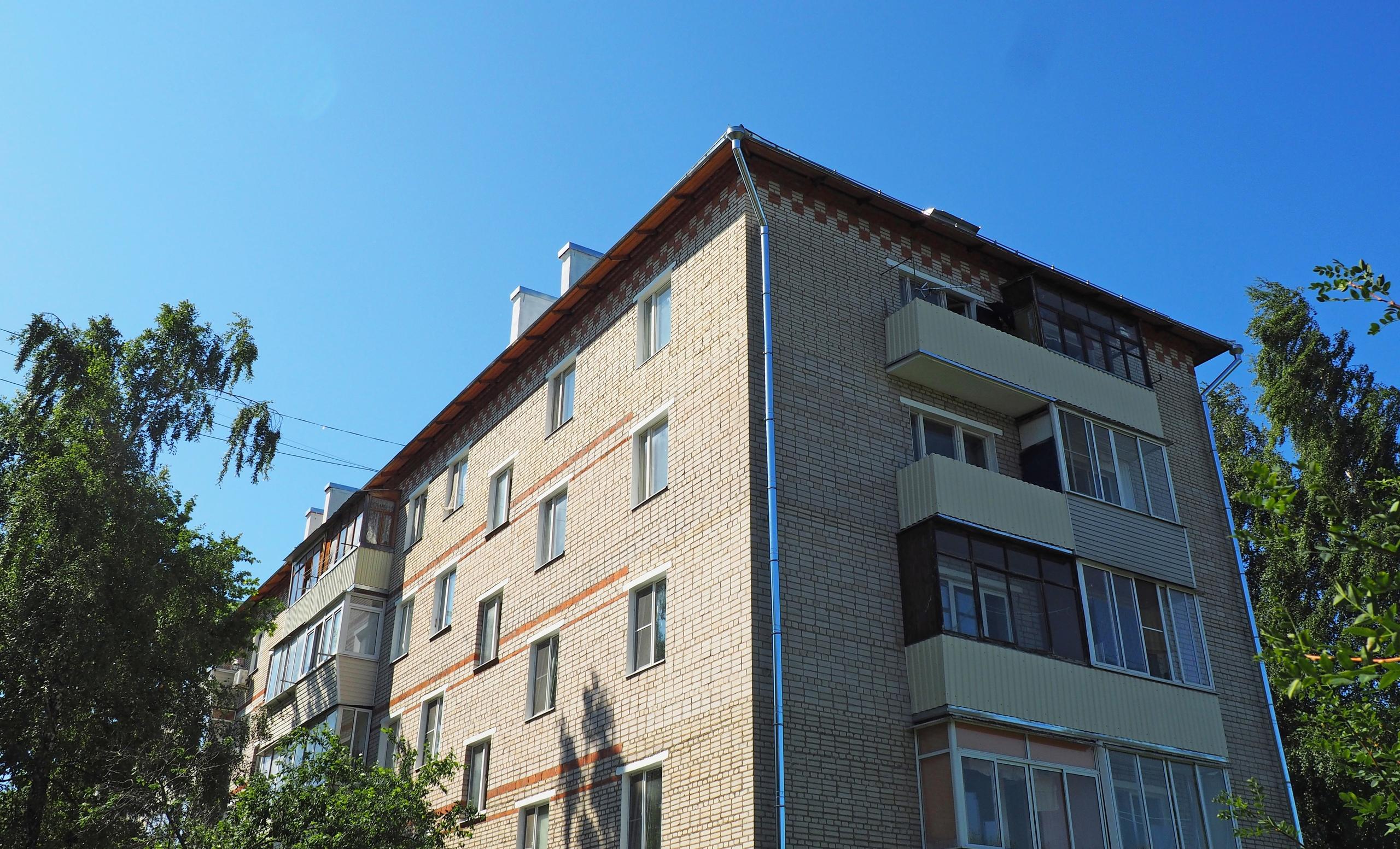 Капитальный ремонт многоквартирных домов продолжили в поселении Рязановское