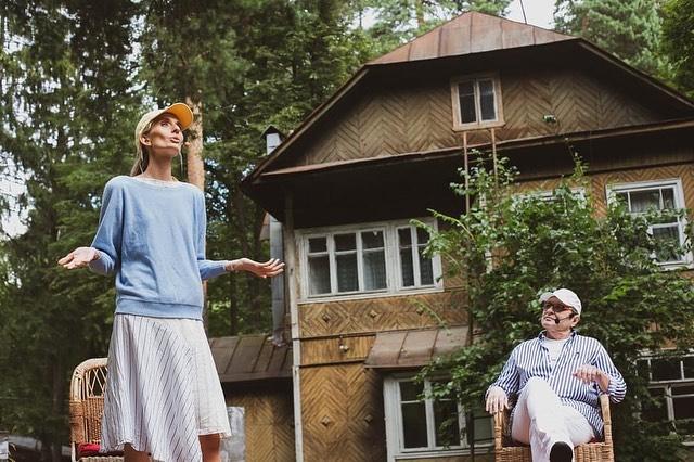 Спектакль-воспоминание «Поляна Валентина Катаева. Путешествие во времени» представили во Внуковском