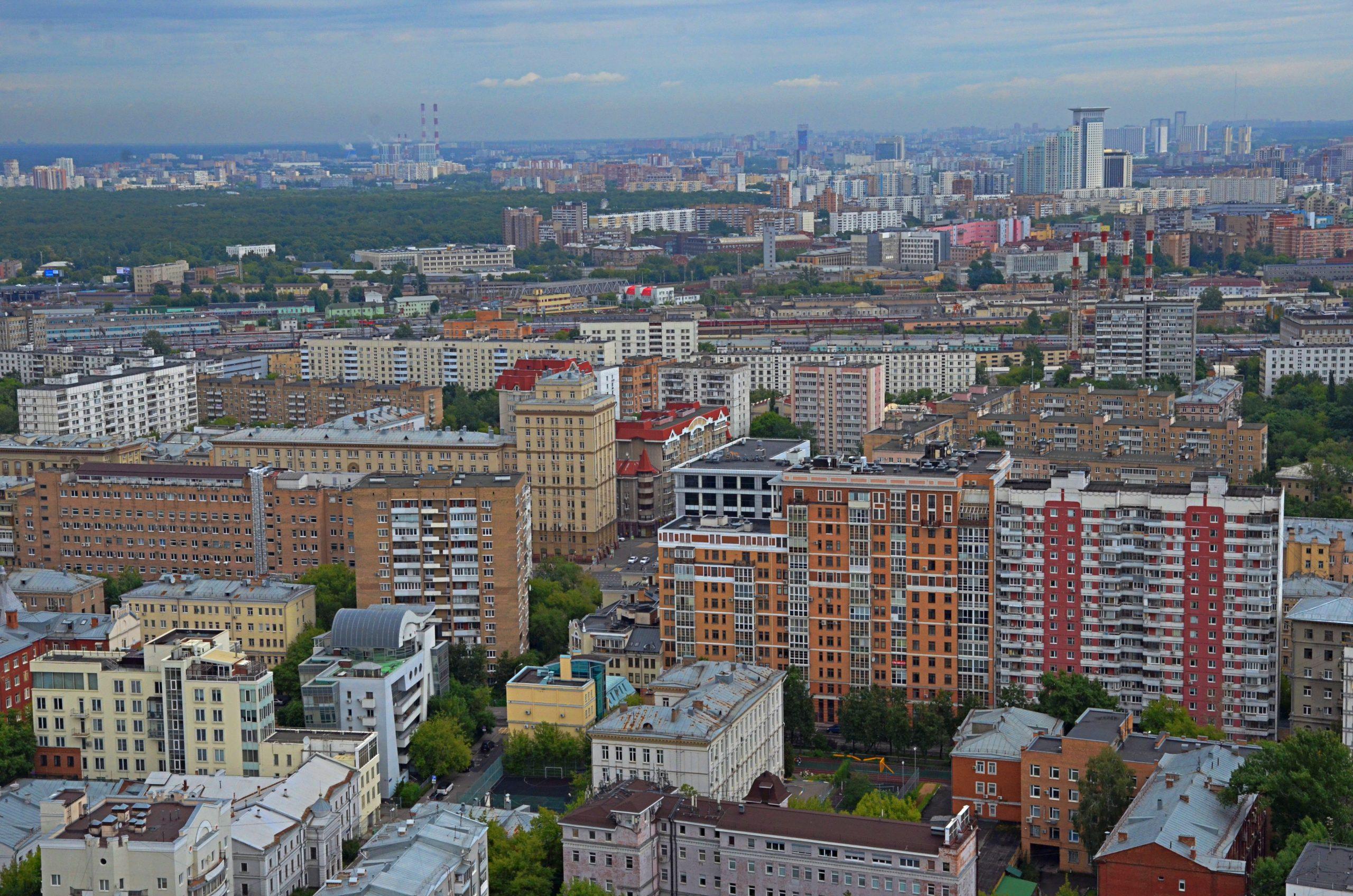 Москвичам рассказали о благоустройстве города по программе «Мой район»