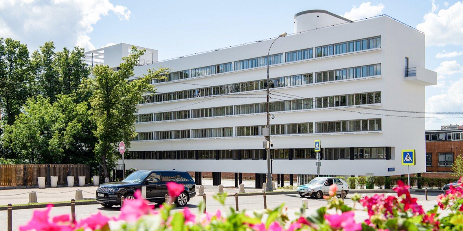 Москвичи смогут виртуально посетить Дом Наркомфина
