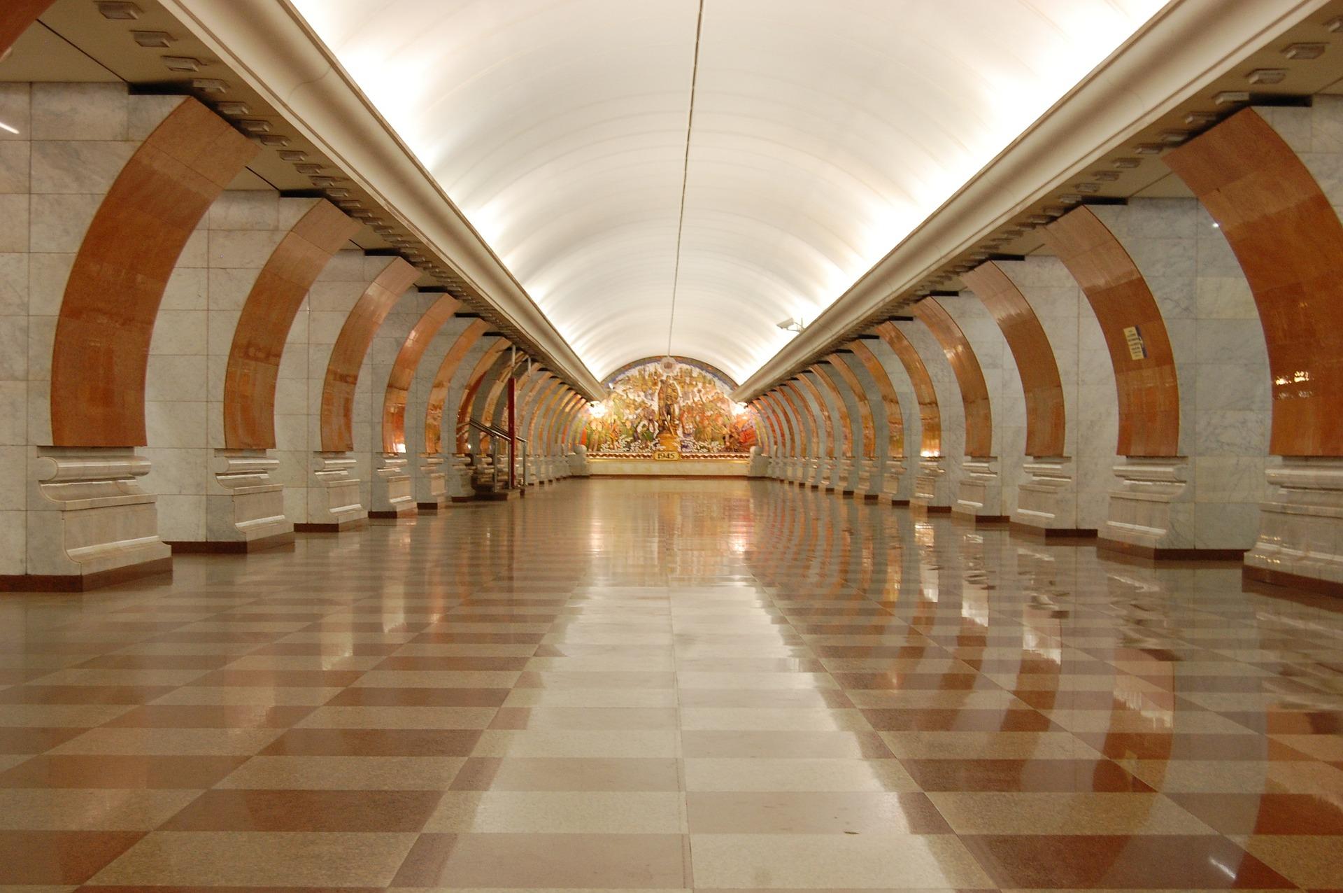 Скульптурной работой украсят станцию метро «Новомосковская»