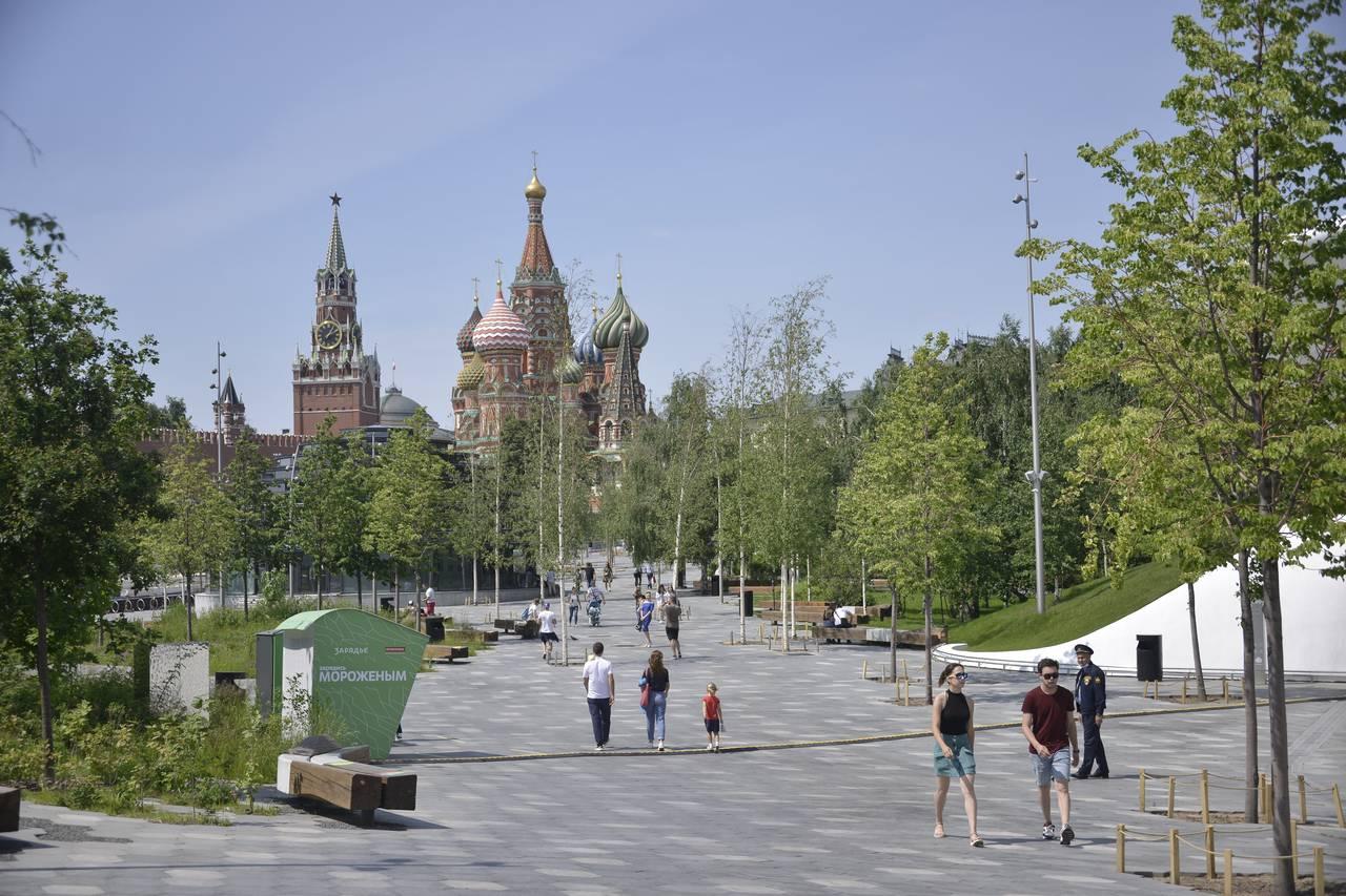 Воздух в Москве прогреется до плюс 28 градусов в воскресенье