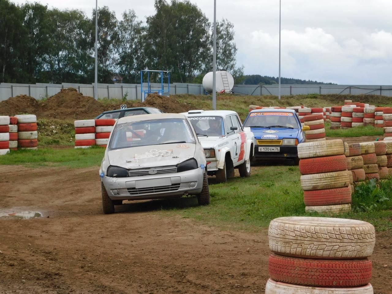 Восьмой этап гоночного соревнования прошел в Щаповском