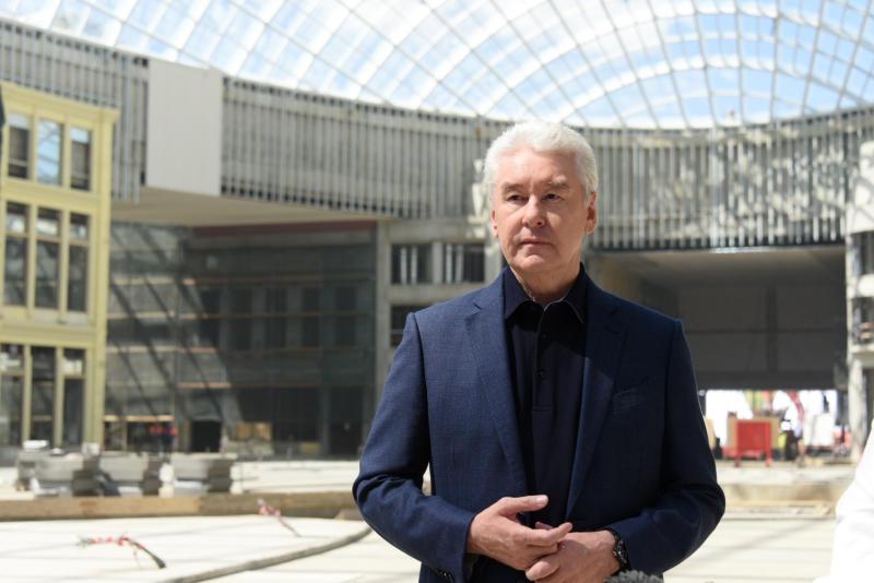 Собянин подвел итоги сезона благоустройства в Москве в 2021 году