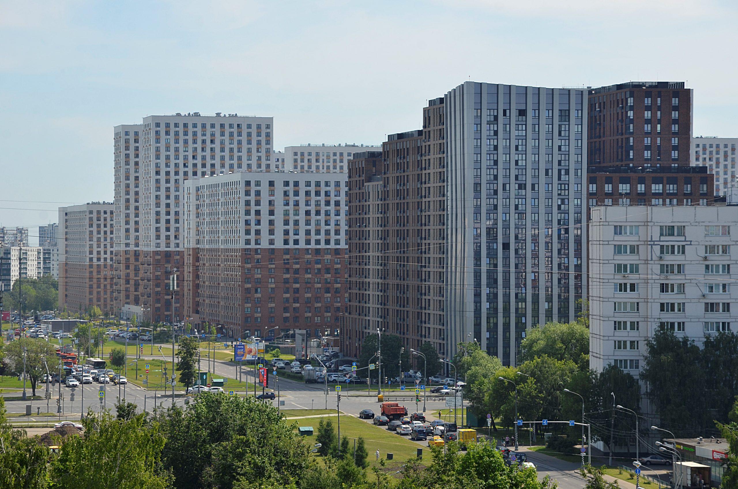 Около трети всех договоров долевого участия Москвы приходится на Троицкий и Новомосковский административные округа