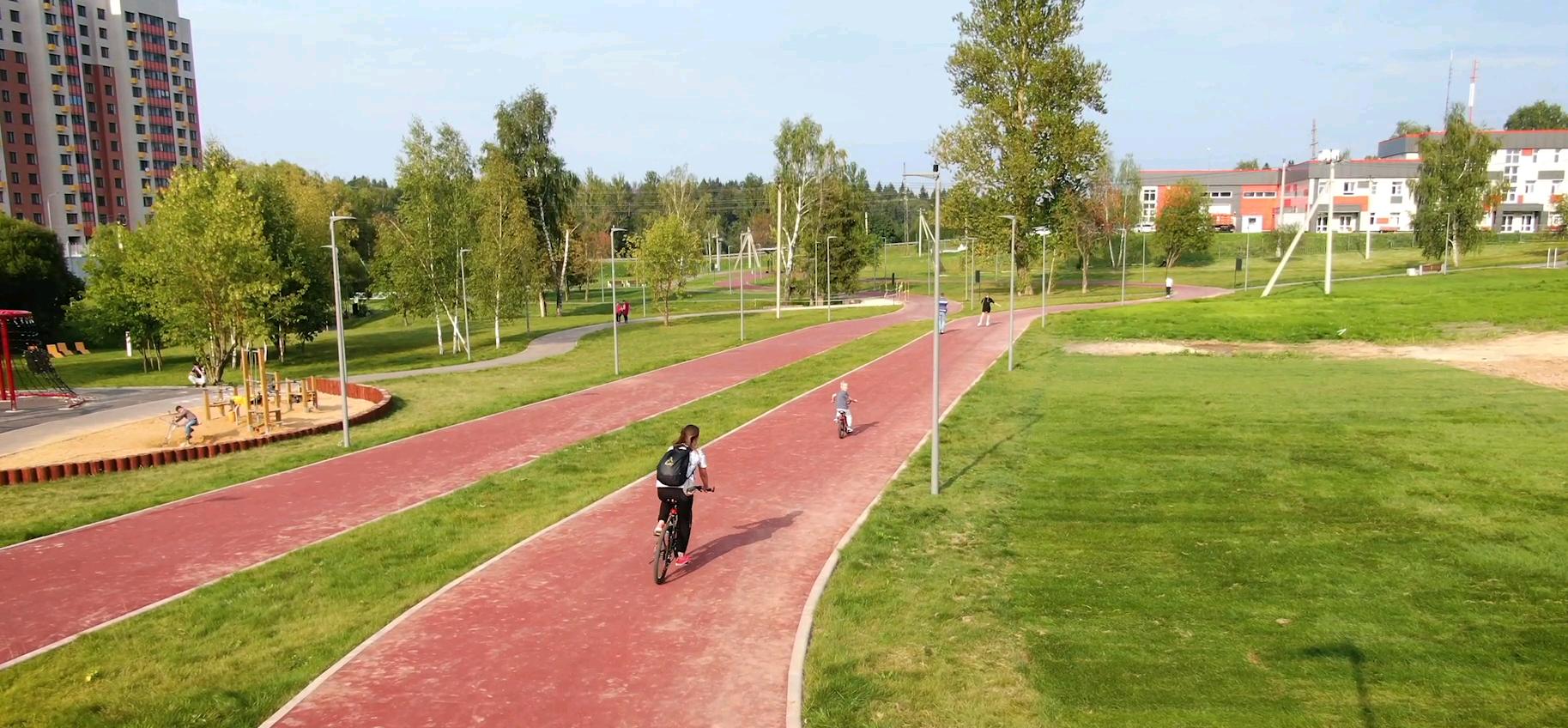 Спортивный кластер обустроили в Михайлове-Ярцевском