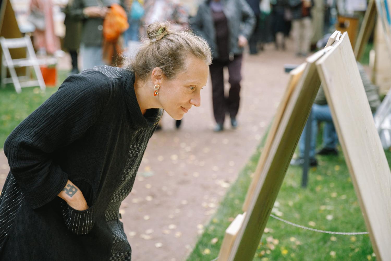 Ярмарка и аукцион произведений искусства прошли в Доме творчества «Переделкино»