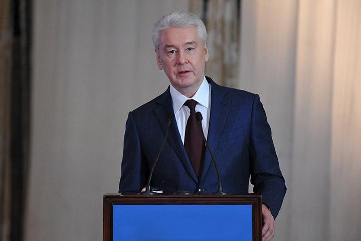 Собянин посетил Общественный штаб по наблюдению за выборами