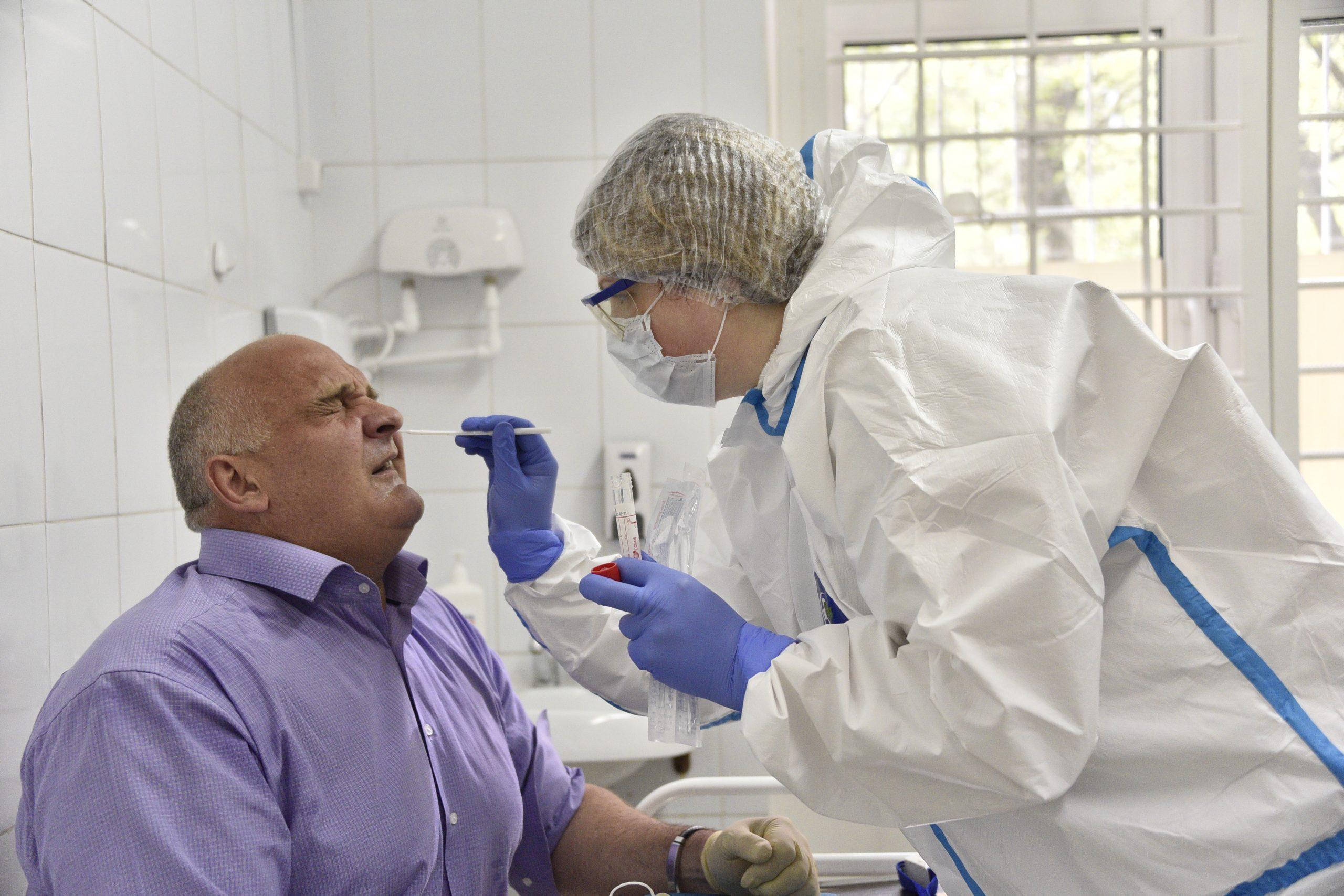 За сутки в Российской Федерации выявили 22 430 случаев заражения коронавирусом