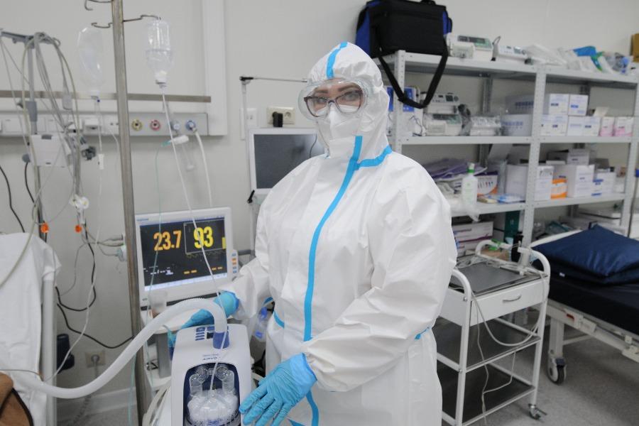 За последние сутки в России зафиксировали 19 744 заразившихся COVID-19