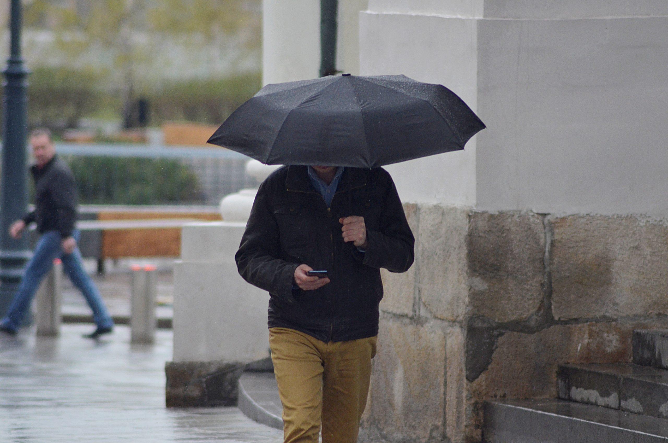 Жителей Москвы и Московской области ожидает облачная погода с дождем