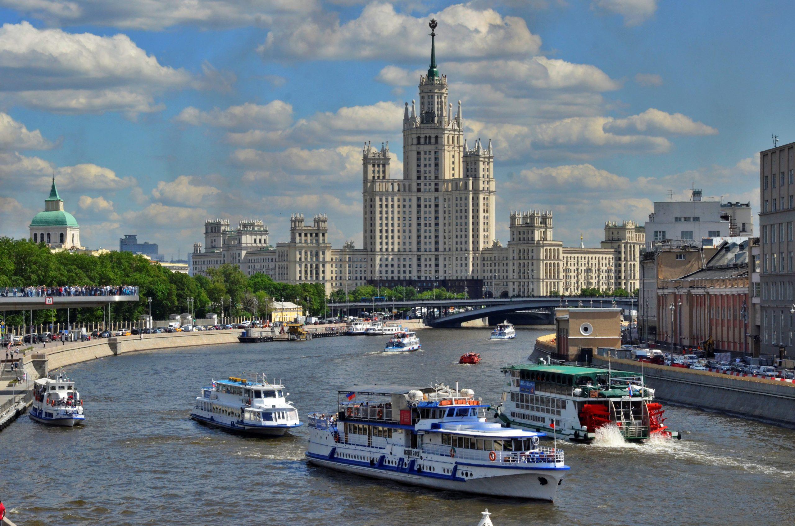 Москвичи проголосовали за название речного трамвая