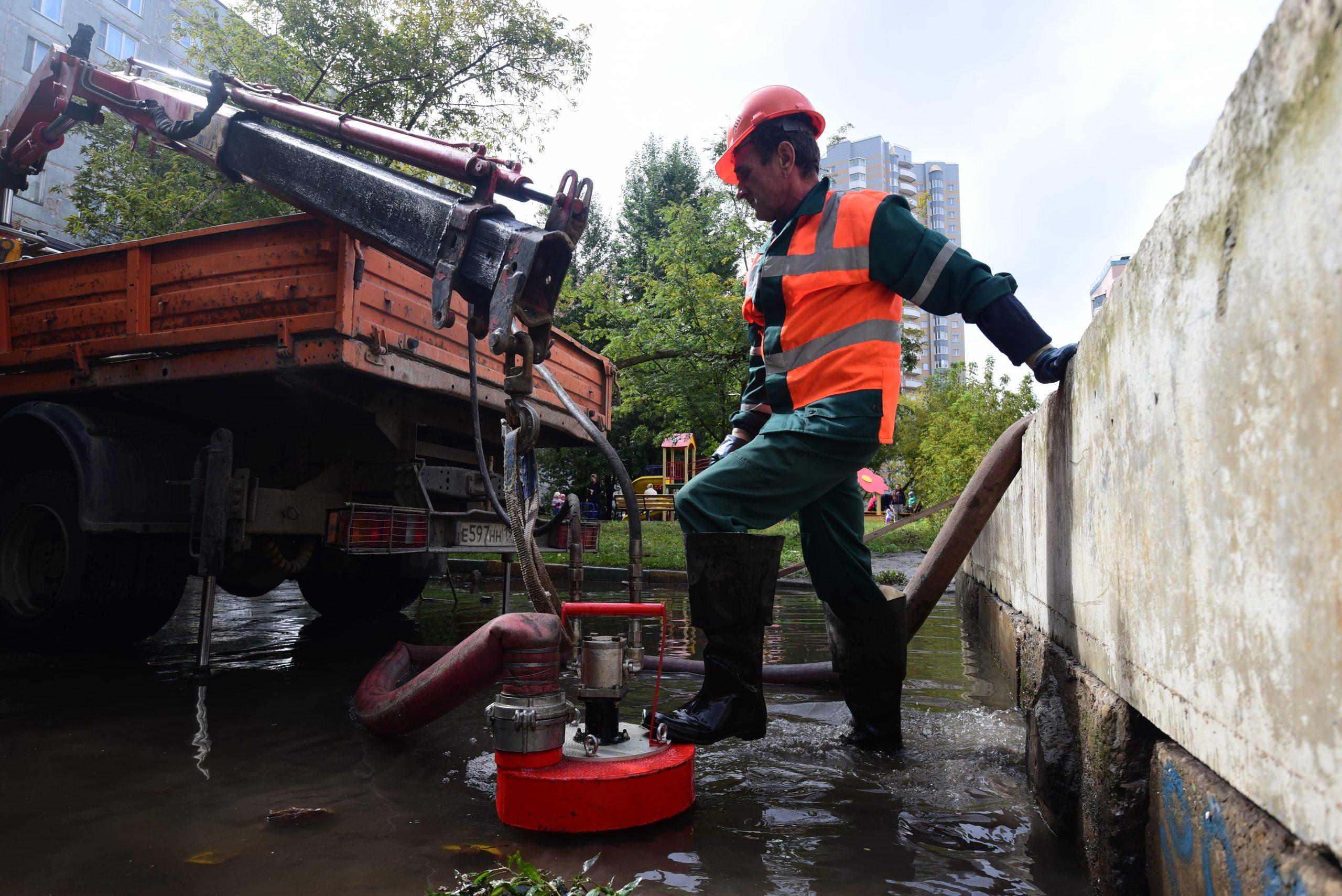 Реконструкция очистного сооружения началась в Кленовском