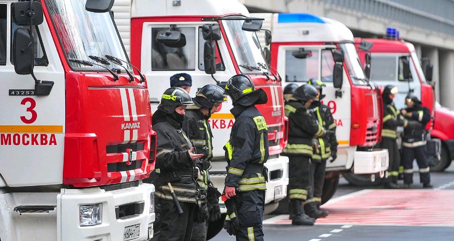 Пожарное депо со скалодромом ввели в эксплуатацию в Вороновском