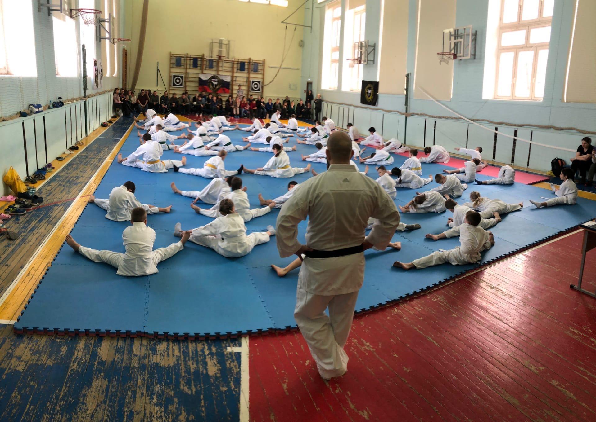 Представители спортивного клуба «Огава-Щербинка» провели подготовку к соревнованиям