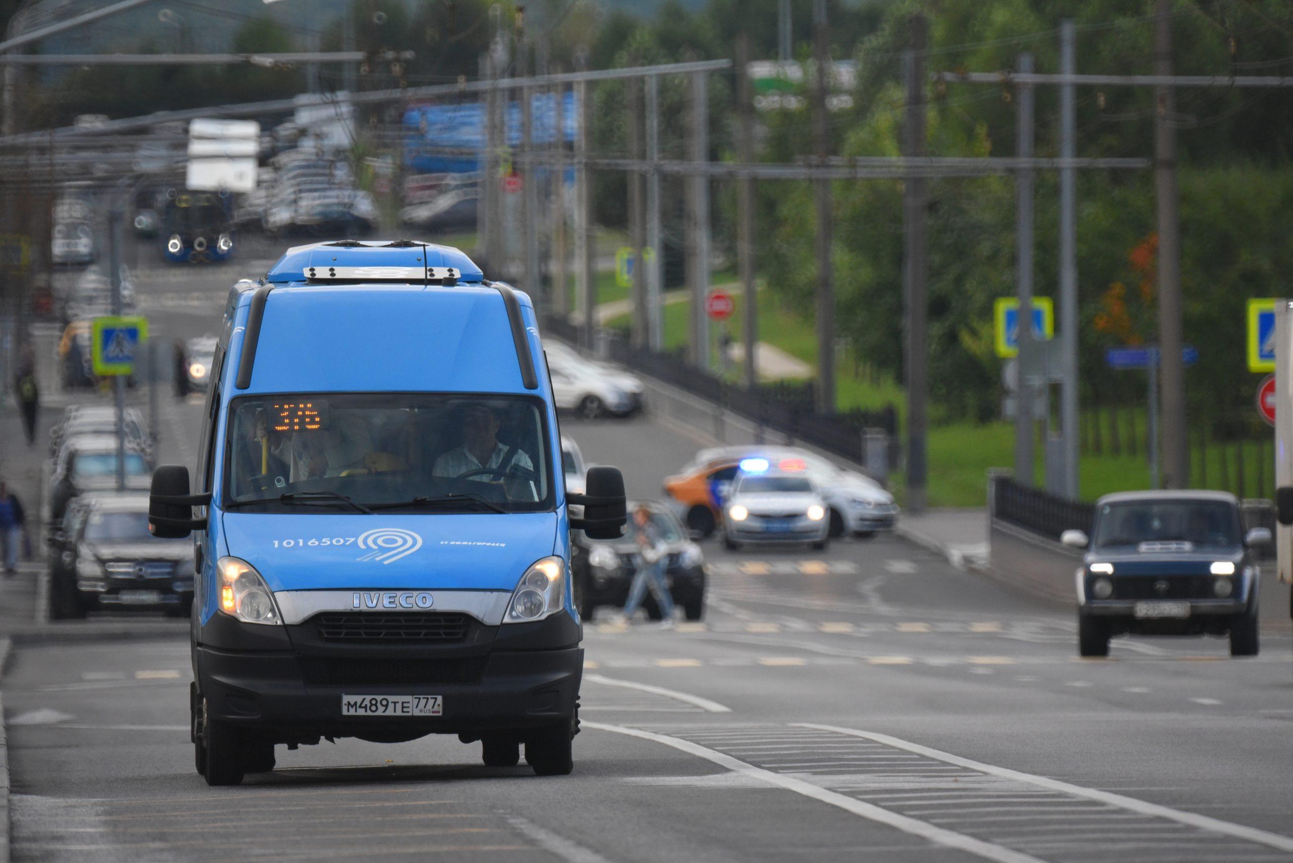 Мосгортранс протестирует сервис персонализированных перевозок Троицкого и Новомосковского административных округов