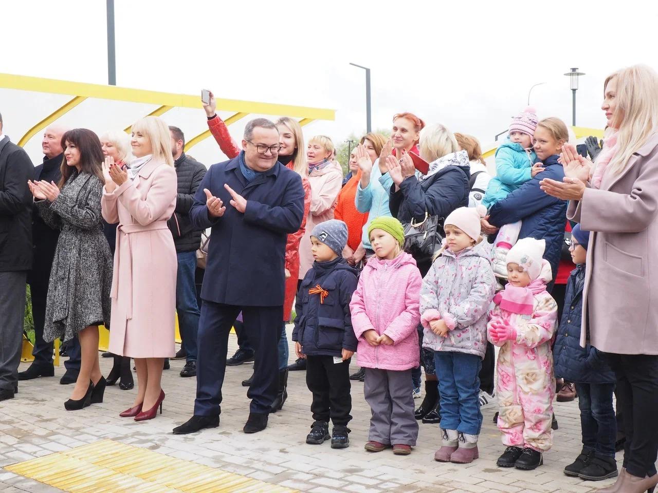 Новый детский сад открыли в поселении Рязановское