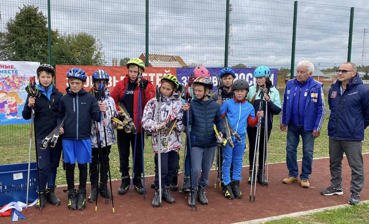 Лыжники из Кленовского завершили подготовку к соревнованиям