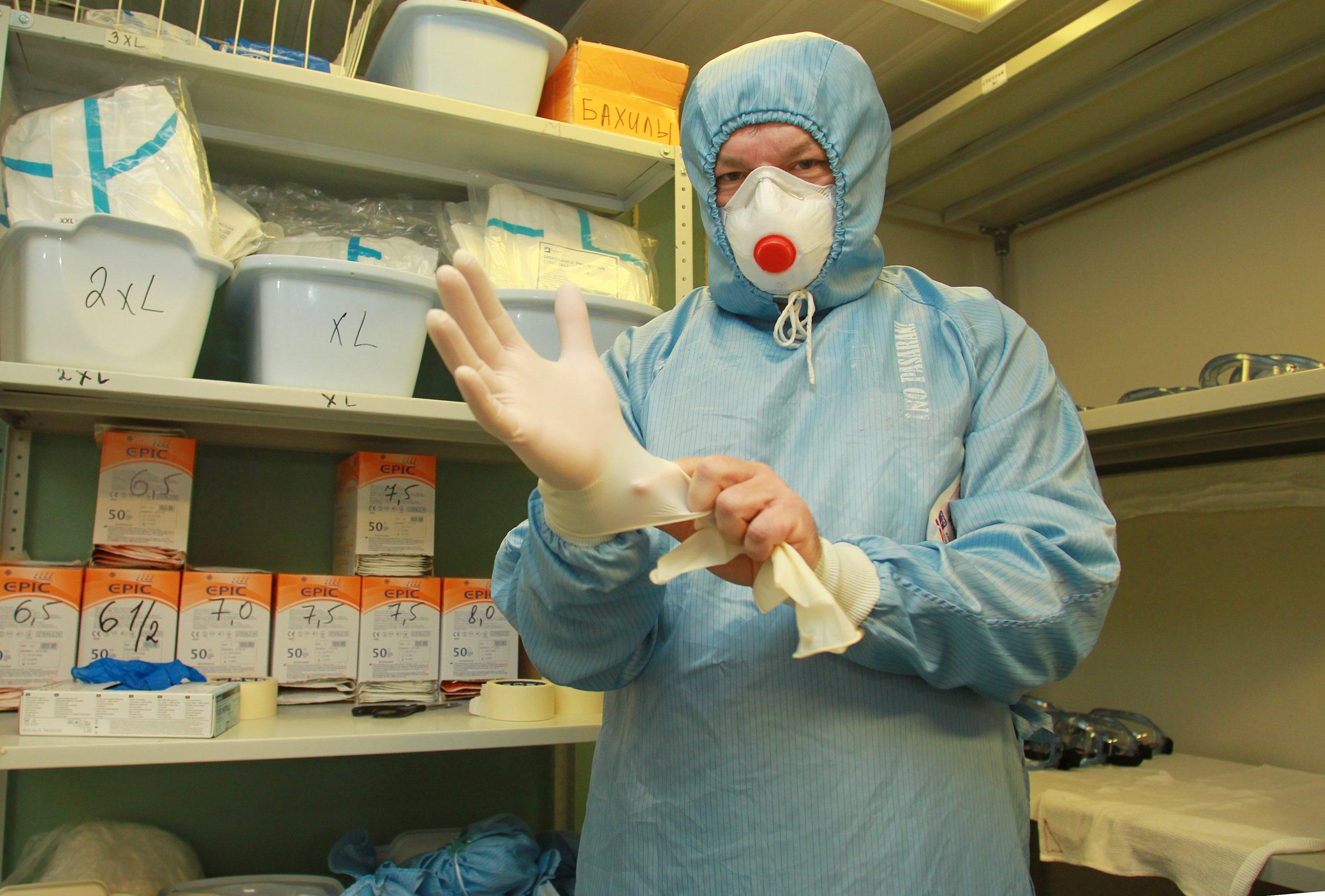 За последние сутки в московском регионе зафиксировали 4 595 новых случаев инфекции коронавируса