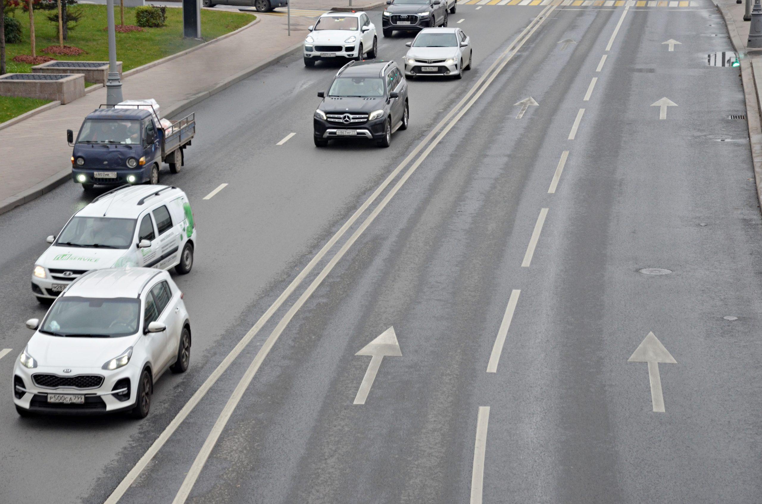 Часть дороги от Боровского до Киевского шоссе готова на 35 процентов