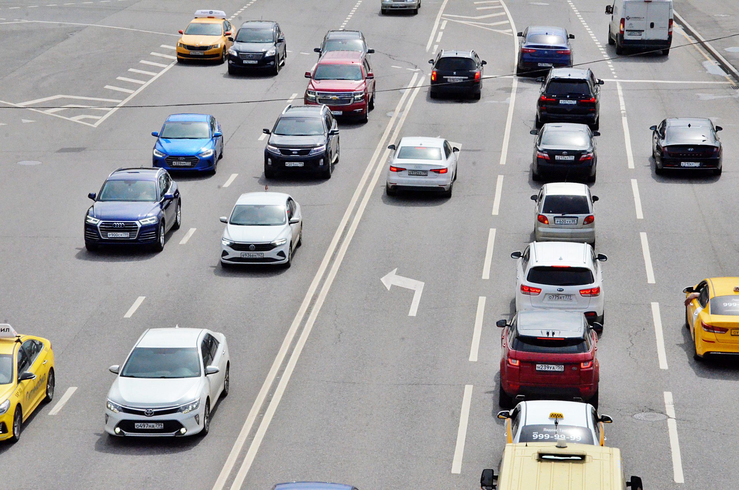 Свыше 285 километров дорог появится в Москве до 2024 года