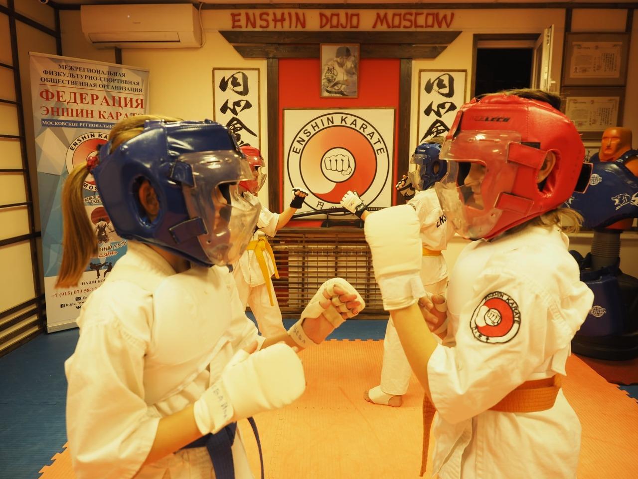 Сотрудники клуба боевых искусств «Будзин» поселения Первомайское провели мастер-класс по кумитэ