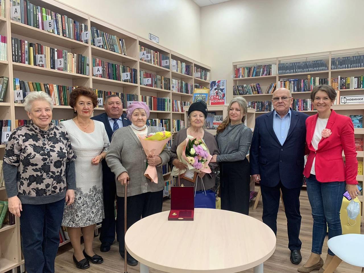 Торжественное открытие обновленной библиотеки №260 прошло в Десеновском