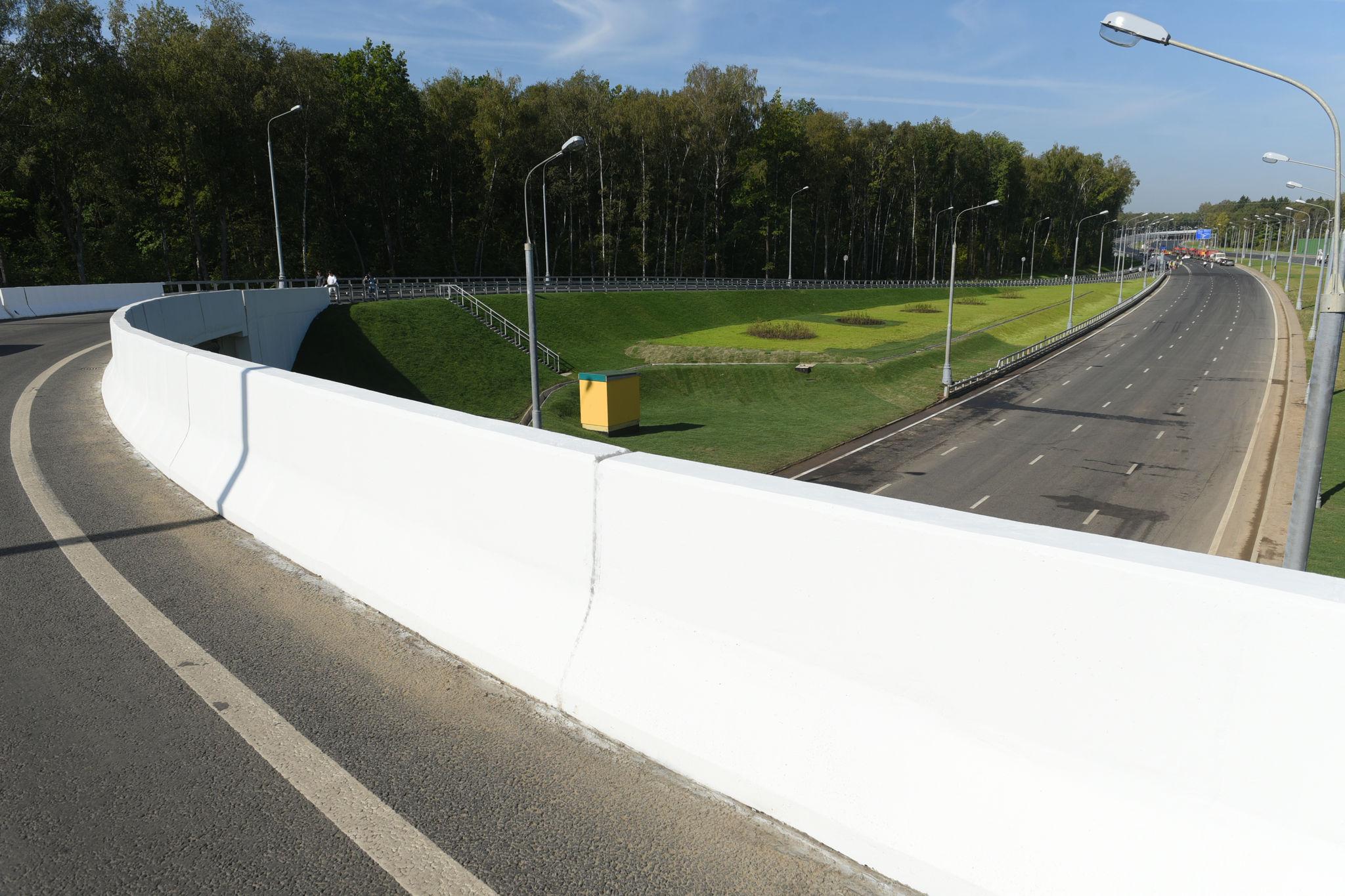 Электросетевую инфраструктуру построили для дороги М-3 «Украина» — Середнево — Марьино — Десна