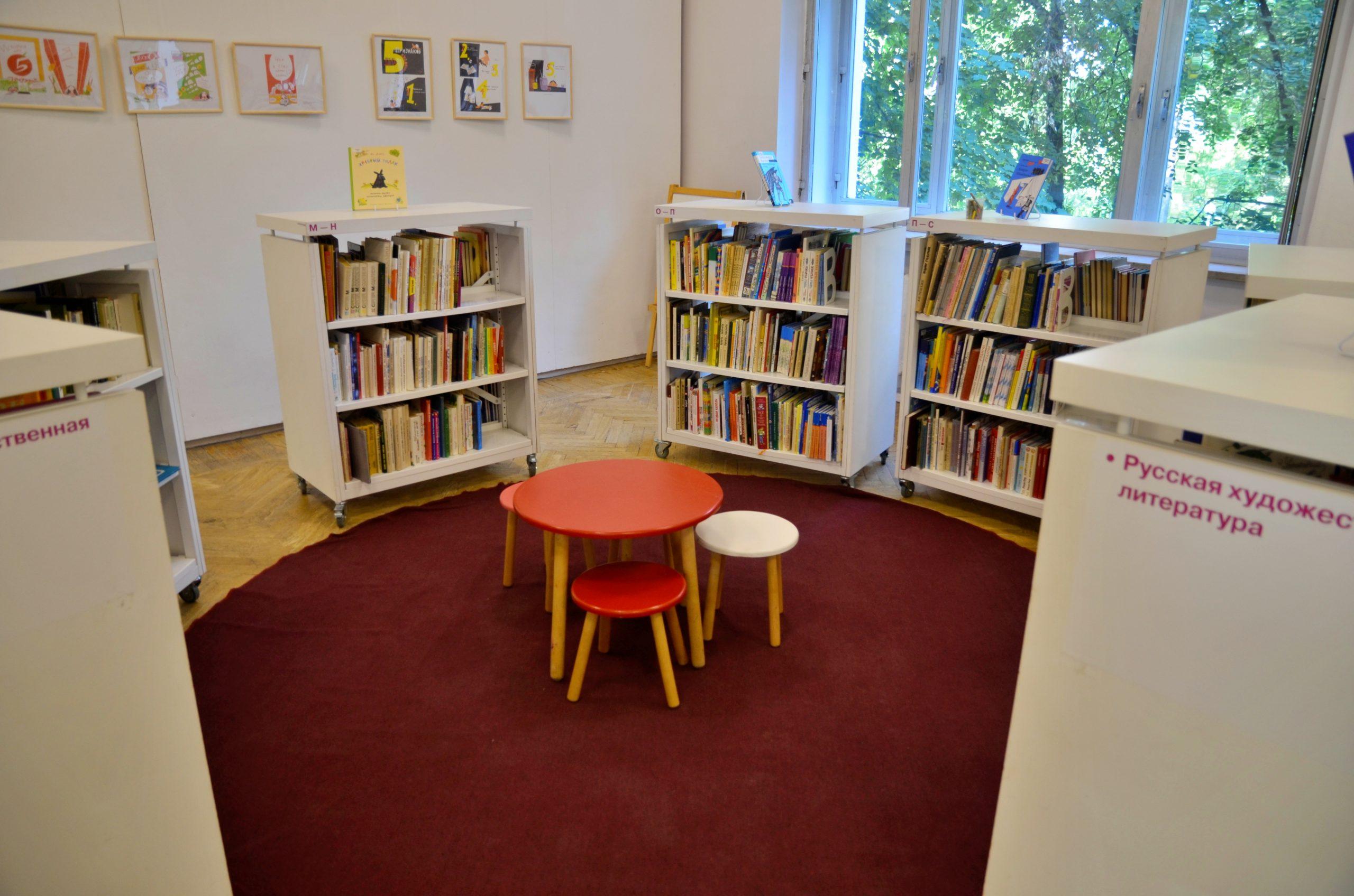 Подготовку к громким чтениям начали в библиотеке №262 поселка Марьино