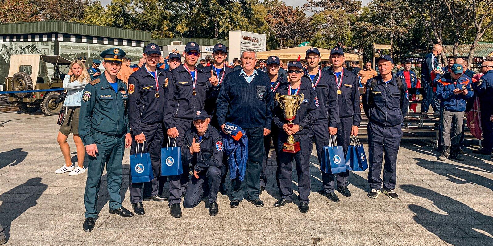 Сборная Москвы стала лучшей на XVIII Чемпионате по многоборью спасателей