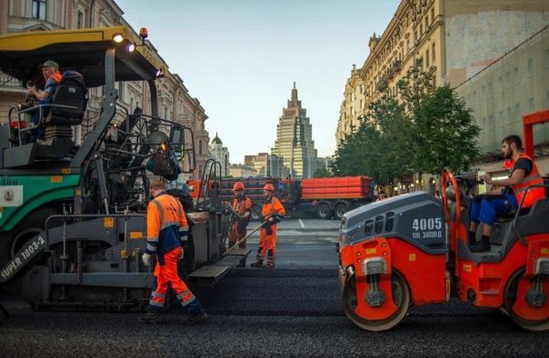 Более 20 000 0000 квадратных метров дорог починили за текущий год