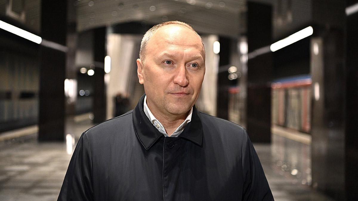 Андрей Бочкарев: Большую кольцевую линию метро можно будет проехать полностью за 90 минут